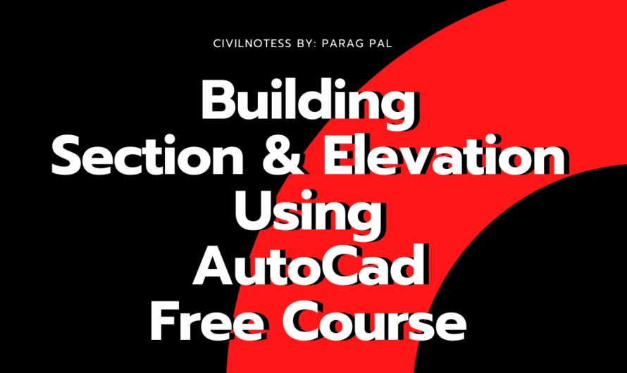 G+7 Story Building Modeling Using AutoCad