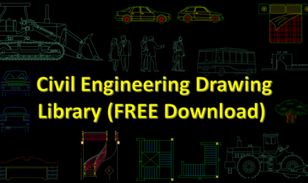 Civil Engineering Drawing Library (FREE Download)